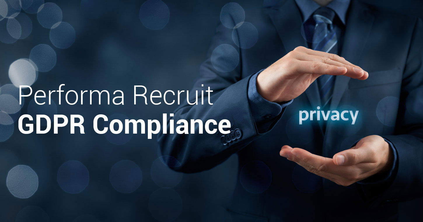 nuovo GDPR performa recruit